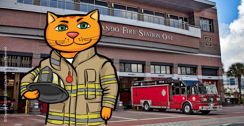 Does Your Fire Department Have Pet Oxygen Masks? 🚒