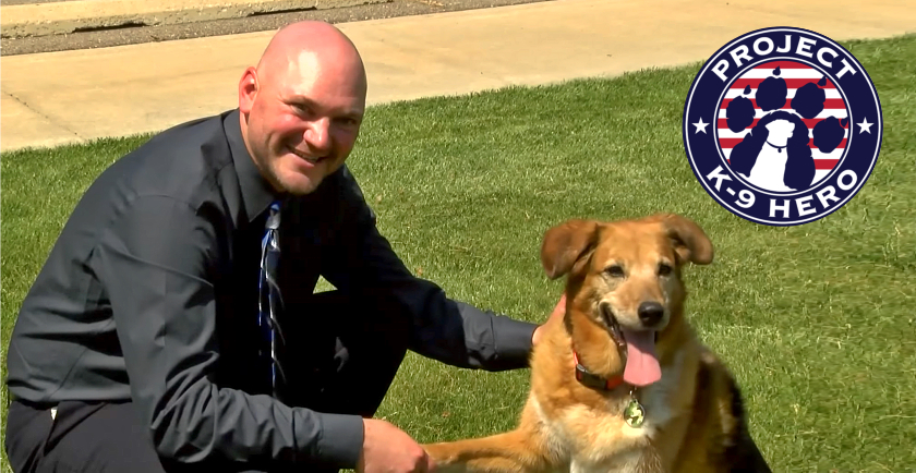 Interview: Project K-9 Hero Founder, Jason Johnson 🎖️